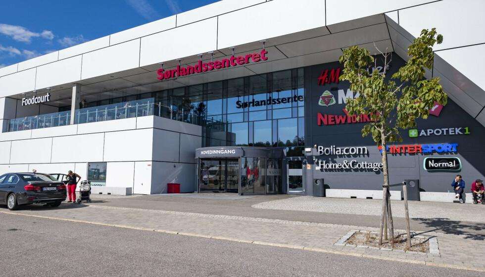 POSITIVE TALL: Sørlandssenteret i Kristiansand var et av mange kjøpesentre som kan slå i bordet med vekst i fjor. Omsetningen ved kjøpesenteret økte med 0,3 prosent sammenlignet med året før. Foto: Tor Erik Schrøder / NTB scanpix