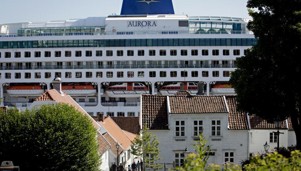 OVERFYLT: Stavanger er blant byene som opplever stor pågang av blant annet cruiseturisme. Her sett fra gamlebyen. Foto: Kristian Ridder-Nielsen / Dagbladet