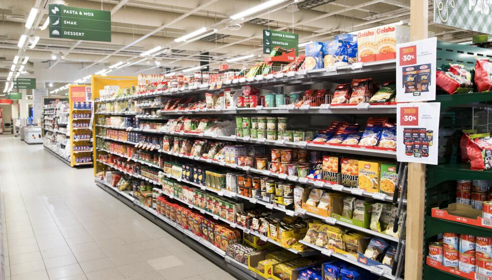 KAN BLI DYRERE: Forbud mot prisdiskriminering kan gi høyere matpriser, mener ekspertutvalg. Foto: Terje Pedersen / NTB scanpix