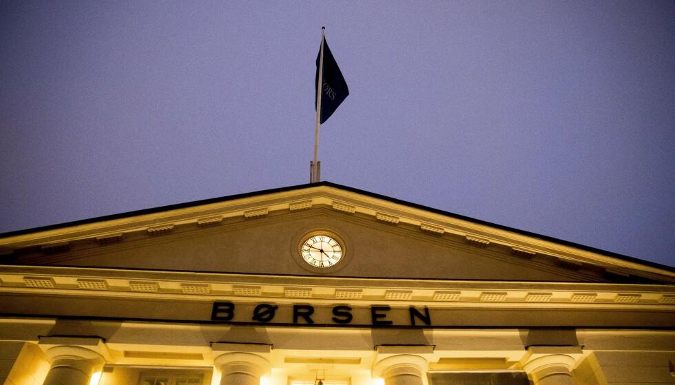 REKORDDAG: Oslo børs stengte på 946,63 poeng i dag. Dermed ble rekorden fra september 2018 slått. Foto: NTB Scanpix