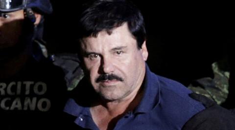 2016: Joaquin «El Chapo» Guzman. Foto: Henry Romero/Reuters
