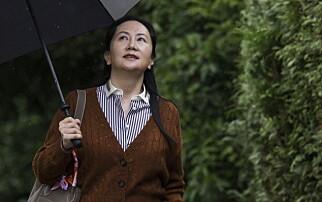 Huawei-topp kjemper mot utlevering til USA