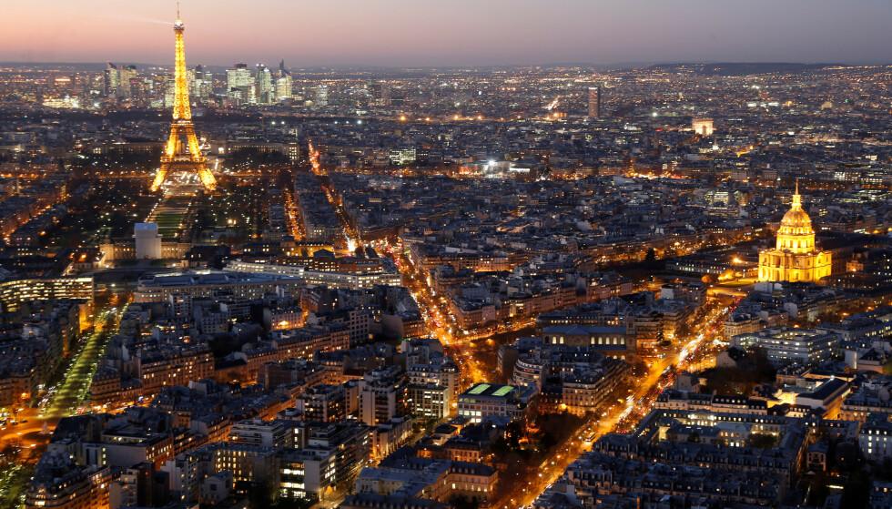 MYE BESØKT: Frankrike var blant verdens mest besøkte land i 2019, men turistveksten i verden falt til fire prosent i fjor. Foto: Charles Platiau / Reuters / NTB Scanpix