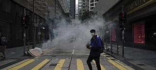 Moody's nedjusterer Hongkongs kredittvurdering
