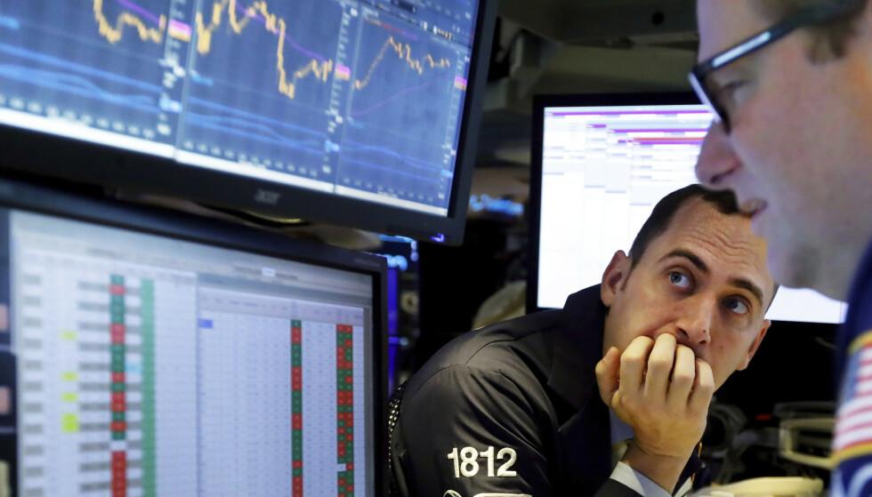 URO: IMF nedjusterer veksttakten for inneværende år og neste år. Politisk uro er blant årsakene. Arkivfoto: Richard Drew / AP / NTB scanpix