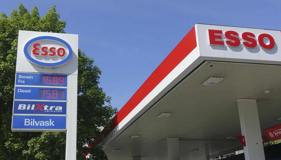 VIL HA DEN OPP: MDG ønsker høyere bensinpris når Frp har gått ut av regjering. Her fra 2018, da bensin kostet 16,89 per liter. Foto: Marianne Løvland / NTB scanpix