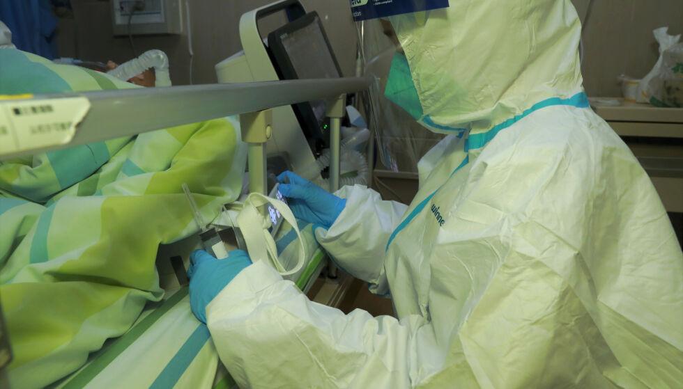 KURSFALL: Coronaviruset skaper usikkerhet i aksjemarkedene. Foto: Reuters / NTB scanpix
