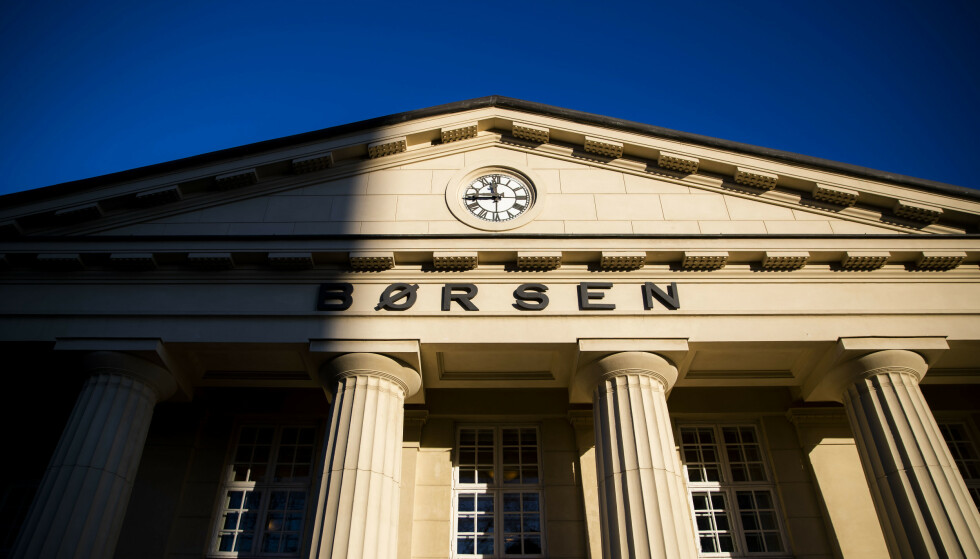 FALL: Oslo Børs faller tungt fra start mandag. Foto: Håkon Mosvold Larsen / NTB scanpix