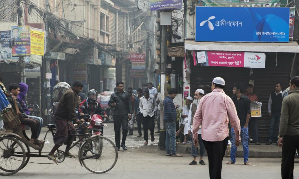 BUTIKK: Telenor henter i overkant av en milliard kroner i utbytte fra datterselskapet i Bangladesh. Foto: NTB scanpix