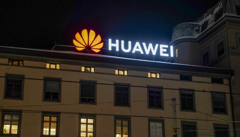 FÅR NEI: Franske Orange sier nei til Huawei. Foto: Heiko Junge / NTB scanpix