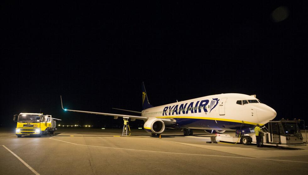 OVERSKUDD: Ryanair fikk et overskudd etter skatt på 87,8 millioner euro i forrige kvartal. Foto: Håkon Mosvold Larsen / NTB scanpix