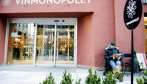 TIDLIG UTE: Bjørn Håvard Larsen er ofte tidlig ute før Vinmonopolets Burgund-slipp. Foto: Jon Olav Nesvold / NTB Scanpix