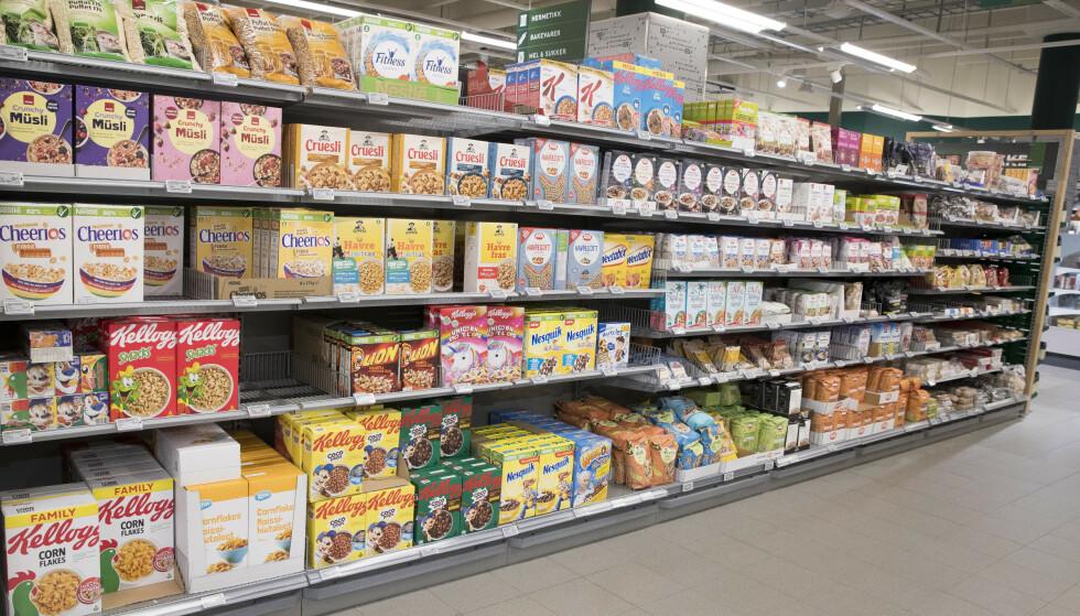 HOPP: Matprisene steg med 2,9 prosent i januar. Foto: Terje Pedersen, NTB scanpix