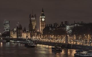Britisk økonomi flatet ut mot slutten av året