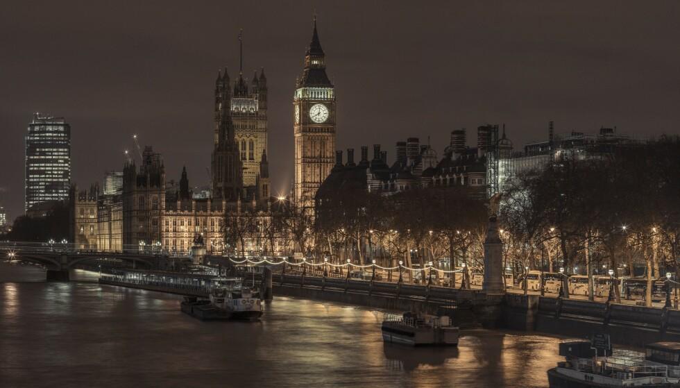 FLATET UT: Britisk økonomi hadde null vekst i siste halvår. Foto: Best Shot Factory / REX / NTB Scanpix