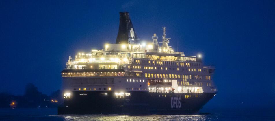 DANSKEBÅTEN: DFDS seiler blant annet mellom Oslo og København. Foto: Håkon Mosvold Larsen / NTB scanpix