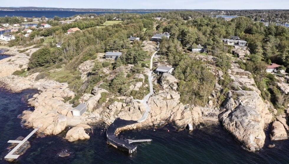 <strong>- PÅKOSTET:</strong> Ifølge megleren har selger brukt opp mot åtte millioner kroner på å oppgradere eiendommen. Foto: Inviso