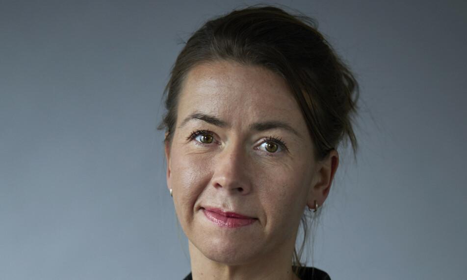 SKREMMENDE: - Jeg ble kjempeskremt, sier administrerende direktør Heidi Arnesen Austlid over resultatet av ansiktsanalysen hun testet på verdens største teknologimesse SXSW i USA. Foto: IKT-Norge
