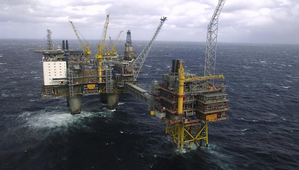 NEDGANG: Norsk eksport gikk ned 7,8 prosent fra januar i fjor til januar i år. Lavere eksportverdi for naturgasser er hovedforklaringen. Arkivfoto: Helge Hansen / NTB scanpix