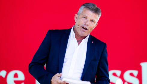 REGJERINGENS SKYLD: Ap-nestleder Bjørnar Skjæran mener regjeringes avgiftspolitikk er grunnen til nedleggelsene. Foto: Håkon Mosvold Larsen / NTB scanpix