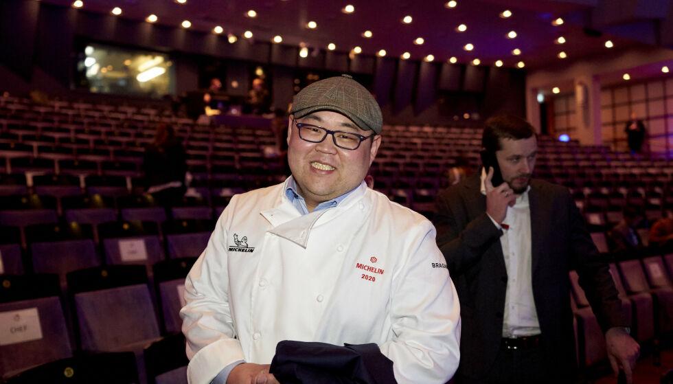 OMAKASE-KOKK: Omakase og Vladimir Pak mottok Michelin-stjerne denne uka. Foto: Ole Martin Wold / NTB scanpix