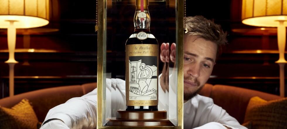 Ellevill whisky-auksjon: - Satte verdensrekord
