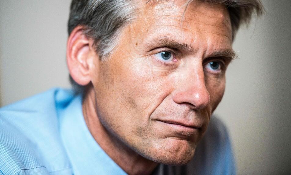 <strong>GIGANTBELØP:</strong> Tidligere Danske Bank-toppsjef Thomas Borgen er blitt saksøkt personlig for like under 3,7 milliarder kroner. Foto: NTB Scanpix