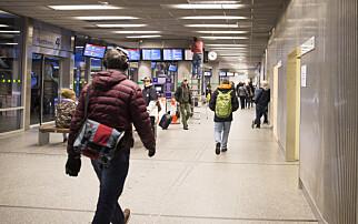 Mer enn 25 millioner passasjerer på Oslo bussterminal i fjor