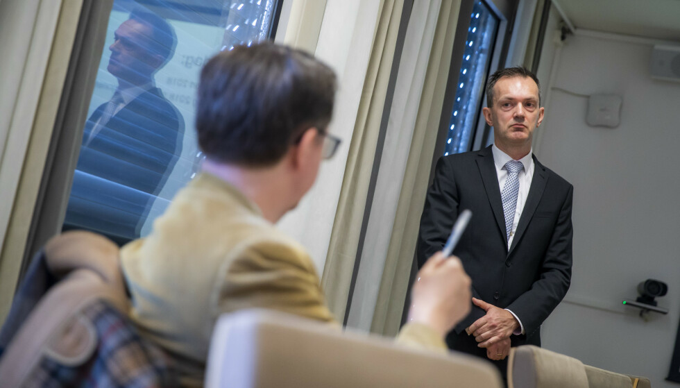BESTE NOENSINNE: – Ansvarlig og bærekraftig forvaltning er sentralt i oppfølgingen av våre investeringer, sier administrerende direktør Kjetil Houg i Folketrygdfondet. Foto: Håkon Mosvold Larsen / NTB scanpix