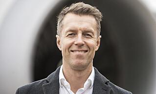 STAB: Kommunikasjonsdirektør Lasse Sandaker-Nielsen i Norwegian forteller at selskapet har etablert en egen coronagruppe. Foto: Ole Berg-Rusten / NTB scanpix