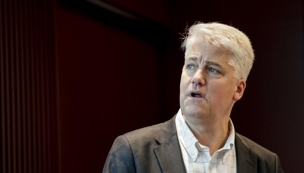 RAMMES: Sjeføkonom Øystein Dørum i NHO sier at også usikkerhet om hvordan utbruddet vil utvikle seg, har en negativ økonomisk effekt. Foto: Vidar Ruud / NTB scanpix
