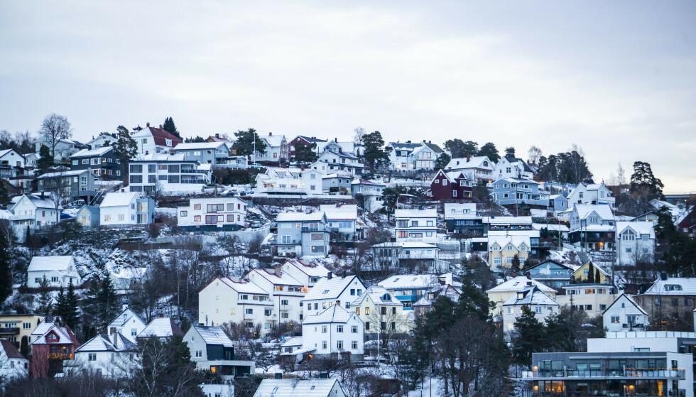 ØKTE PRISER: Andelen som tror på stigende boligpriser har økt fra 44 prosent i november til 58 prosent i februar, viser en undersøkelse bestilt av Norske Boligbyggelags Landsforbund. Foto: Håkon Mosvold Larsen / NTB scanpix