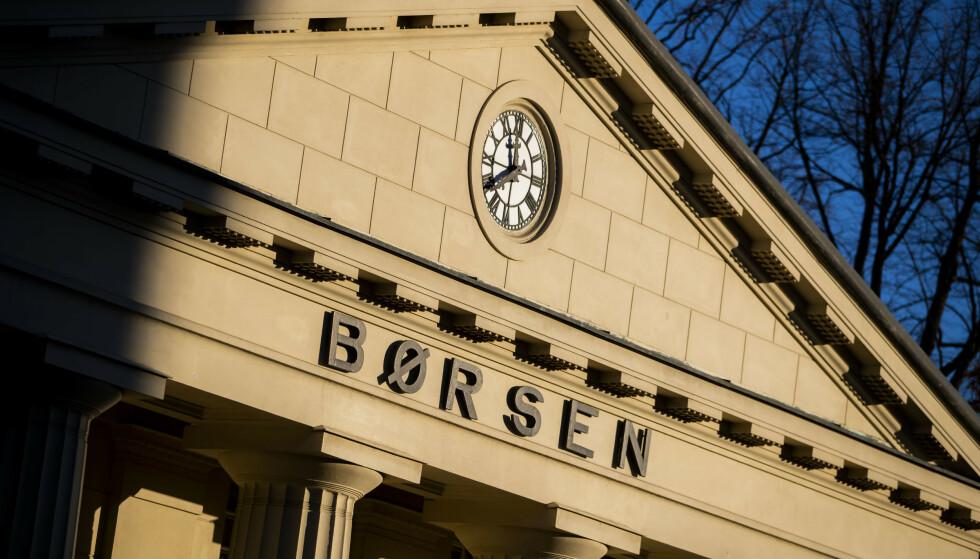 NED: Dystre tider for investorene på Oslo Børs. Foto: Håkon Mosvold Larsen / NTB scanpix