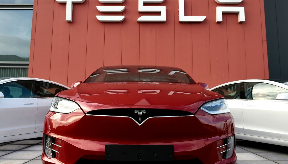 <strong>VIL HA NORSK FABRIKK:</strong> Venstre-topp Guri Melby vil ha Tesla-fabrikk til Norge hvis Tyskland sier nei. Foto: John Thys / AFP / NTB Scanpix