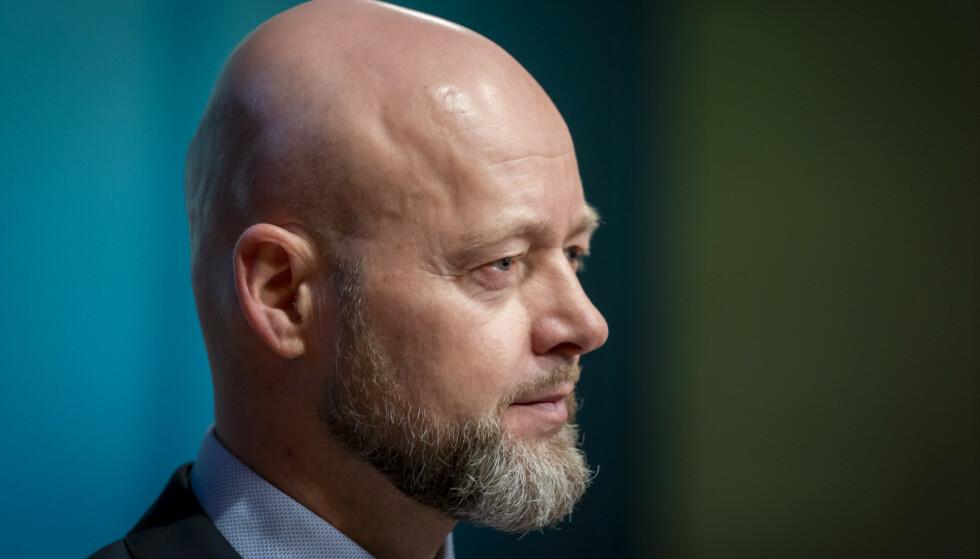 SOLGTE SEG UT: Oljefond-sjef Yngve Slyngstad trakk seg ut av 28 selskaper av klimahensyn i fjor. Foto: Heiko Junge / NTB scanpix