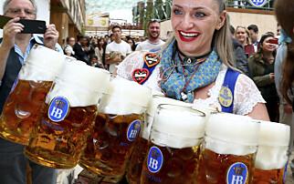 Så mye alkohol drikker nordmenn