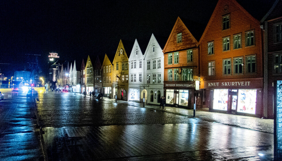 PERMISJONER: I likhet med en rekke andre byer i Norge og verden opplever hotellnæringen i Bergen stor nedgang på grunn av koronaviruset. Foto: Gorm Kallestad / NTB scanpix