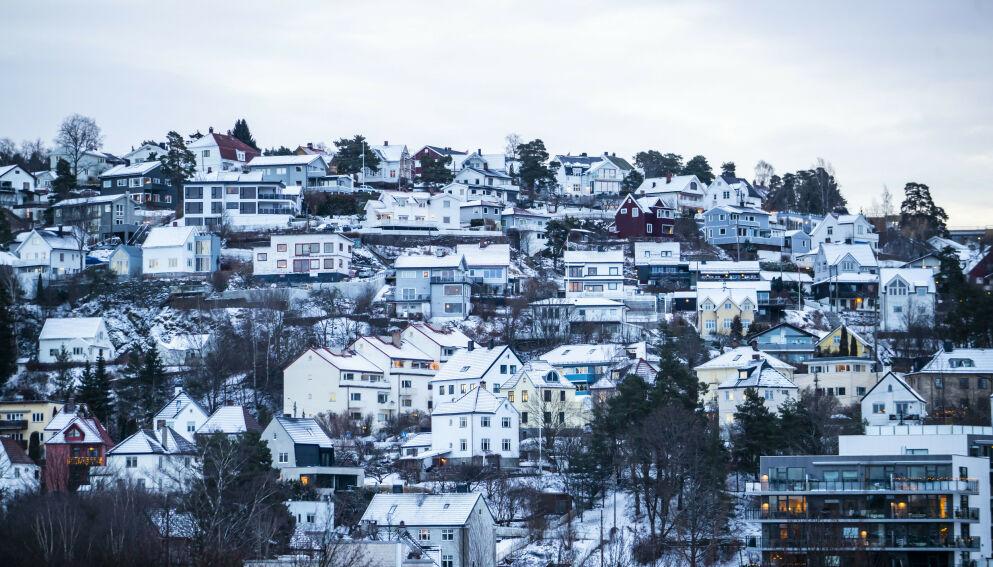 CORONA-SJOKK: Nye tall fra Eiendom Norge viser at en enslig sykepleier, med 580 000 kroner i årslønn, bare har råd til 2,5 av 100 boliger på markedet i Oslo. Illustrasjonsfoto: Håkon Mosvold Larsen / NTB scanpix
