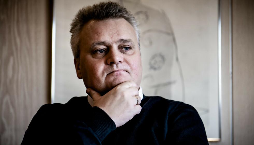 SLÅR TILBAKE: LO-boss Jørn Eggum mener NHO tar feil når de sier at coronaviruset må få betydning for det kommende lønnsoppgjøret. Foto: Lars Eivind Bones.