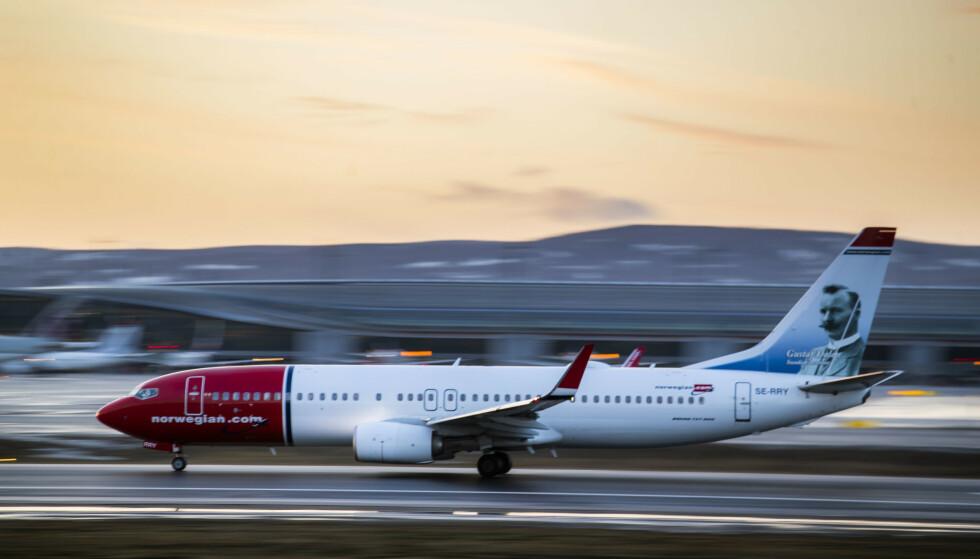 SVART UKE: Norwegian starter ned nok en dag, etter ei ny svart uke på Oslo Børs. Foto: Håkon Mosvold Larsen / NTB scanpix