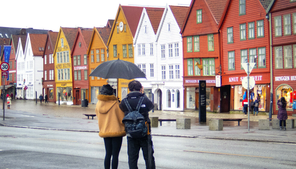 BRÅSTOPP: Turistnæringa melder om bråstopp i bookinger, både blant norske og utenlandske turister. Foto: Gorm Kallestad / NTB scanpix