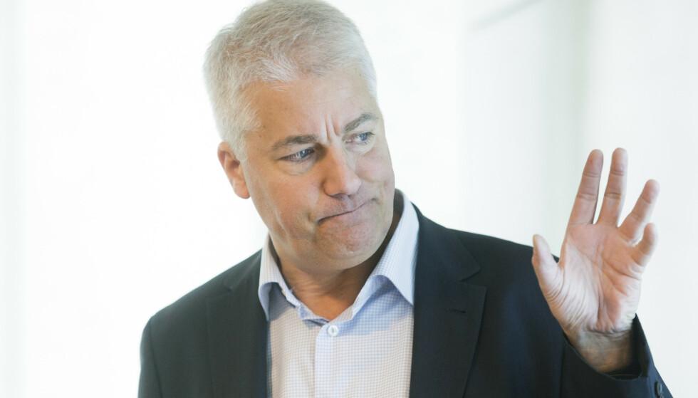 ALVORLIG: NHOs sjeføkonom Øystein Dørum kaller viruskrisen en trippel smell for norsk økonomi. Foto: Berit Roald / NTB scanpix