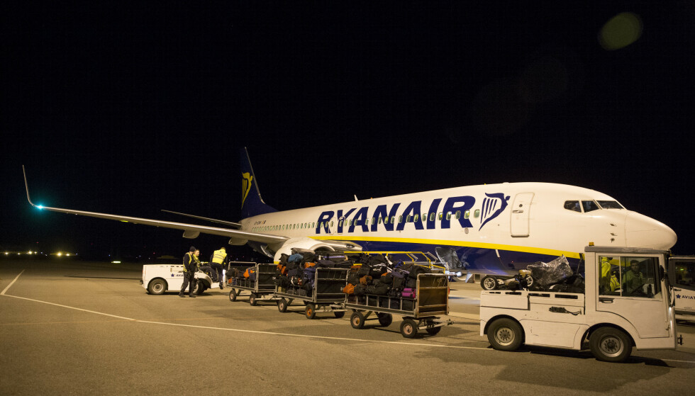 DROPPER ITALIA: Ryanair kutter alle ruter til, fra og internt i Italia. I første omgang gjelder innstillingene fram til påske. Arkivfoto: Håkon Mosvold Larsen / NTB scanpix