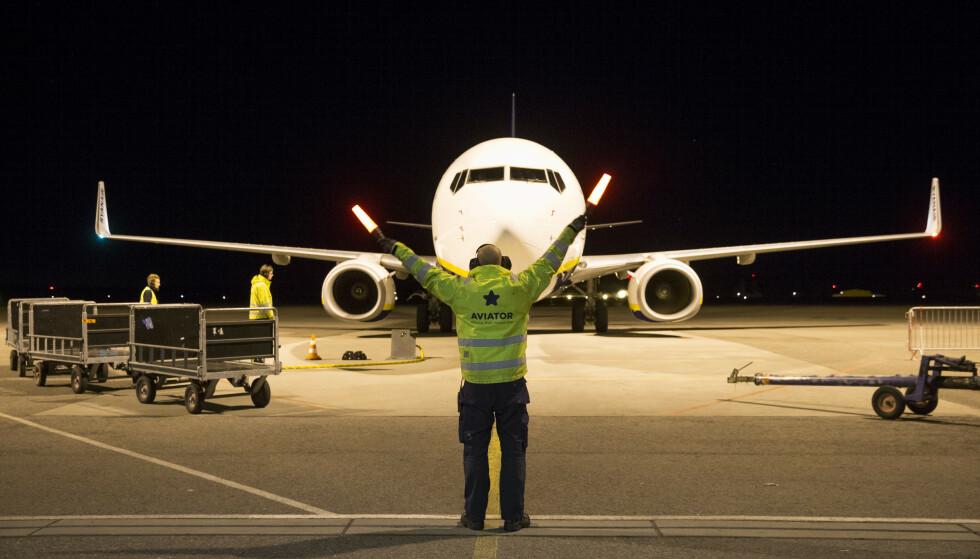 CORONA-KONSEKVENSER: 514 ansatte i Aviator har fått permitteringsvarsel. Foto: Håkon Mosvold Larsen / NTB Scanpix