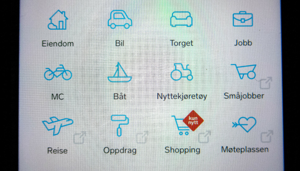 TAR GREP: Finn.no stanser salg av corona-relaterte produkter. Foto: Gorm Kallestad / NTB scanpix