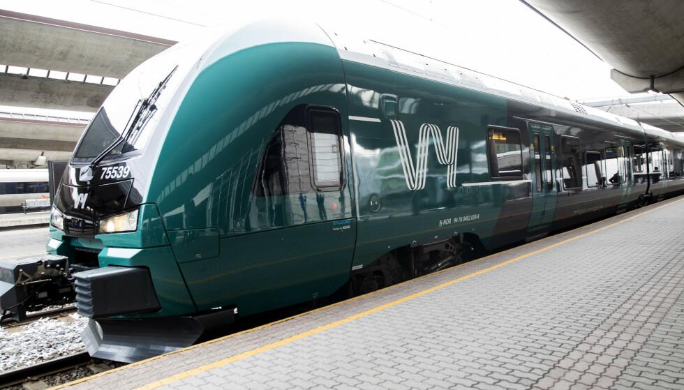 <strong>FÆRRE REISENDE:</strong> Vy melder om relativt god plass på sine tog onsdag.   Foto: Berit Roald / NTB scanpix