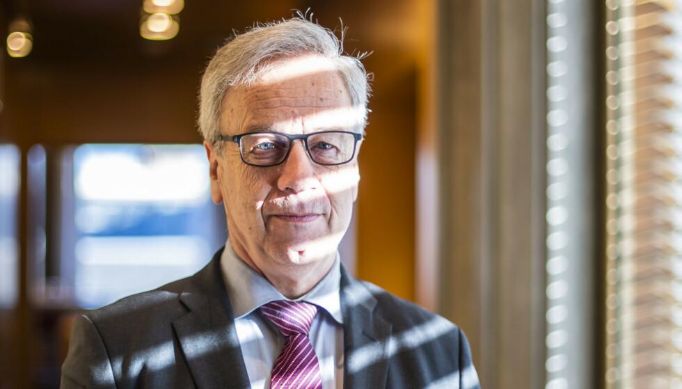 SETTER NED RENTA: Norges Bank setter ned renta, varsler banken selv fredag morgen. Foto: Håkon Mosvold Larsen / NTB scanpix