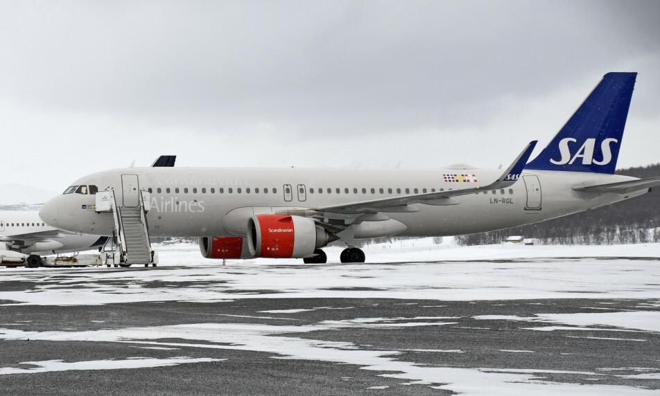 <strong>PERMITTERER:</strong> SAS permitterer omkring 200 av sine norske ansatte. Foto: NTB Scanpix