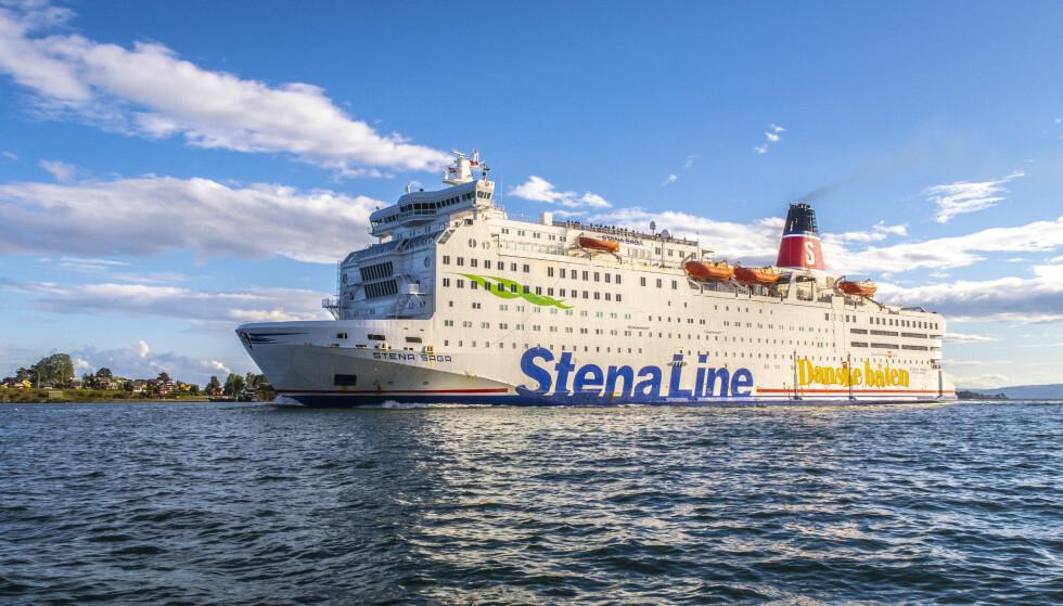 SIER OPP: MS «Stena Saga» fra Stena Line på vei til Oslo. Nå må det svenske rederiet si opp 950 ansatte, skriver danske medier. Foto: Halvard Alvik, NTB scanpix