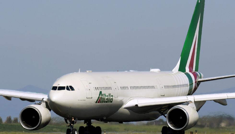 KAN BLI STATLIG: Flyselskapet Alitalia har slitt de siste åra. Nå kan staten komme til å ta over. Foto: Alberto Lingria / Reuters / NTB Scanpix